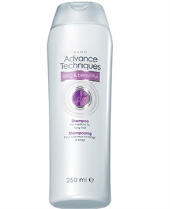 Avon Advance Techniques Sampon Félhosszú és Hosszú Hajra