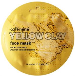 """Café Mimi Arcmaszk """"Sárga Agyag és Őszibarack"""""""