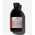 Davines Alchemic Copper Shampoo, Színfrissítő Sampon - Réz - Sötét Szőke Hajtól a Világos Barna Hajig