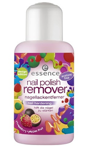 Essence Nail Polish Remover Nail Hardening Strawberry + Passion Fruit
