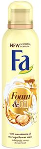 Fa Foam & Oil Makadámia Olaj és Moringa Tusfürdőhab