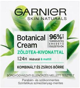 Garnier Botanical Hidratáló Krém Zöldtea Kivonattal