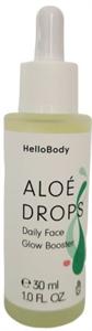 HelloBody Aloé Drops Ragyogást Adó Olajszérum