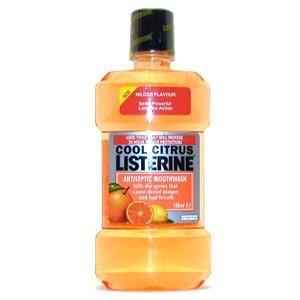 Listerine Cool Citrus Antiszeptikus Szájvíz