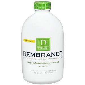 Rembrandt Deeply White + Peroxide Szájvíz