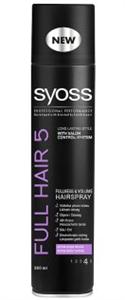 Syoss Full Hair 5 Teltség & Dúsítás Hajlakk