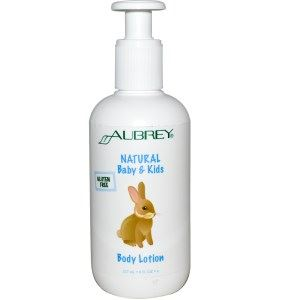 Aubrey Natural Baby And Kids Body Lotion