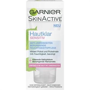 Garnier Hautklar Sensitiv Sensitiv Anti-Unreinheiten Beruhigende Feuchtigkeitspflege