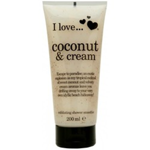 I Love... Coconut & Cream Bőrradíros Tusfürdő