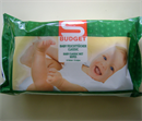 S Budget Baby Nedves Törlőkendő
