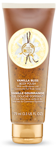 The Body Shop Vanilla Bliss Vaníliás Testradír