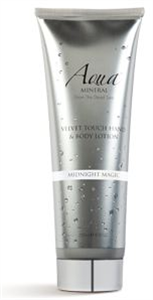 Aqua Mineral from the Dead Sea Velvet Touch Hand And Body Lotion Midnight Magic