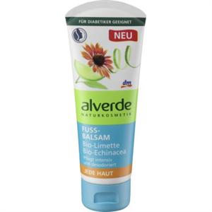 Alverde Fussbalsam Bio-Limette, Bio-Echinacea