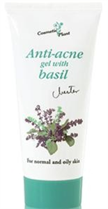 Cosmetic Plant Anti-acne Gel with Basil