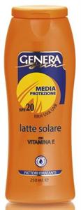 Genera Sun Vízálló Naptej SPF20