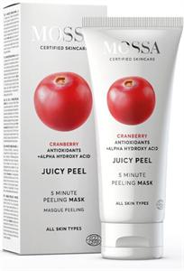 Mossa Juicy Peel Bőrtökéletesítő Peeling Maszk Vörös Áfonya Kivonattal