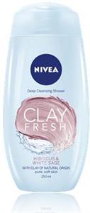 Nivea Clay Fresh Hibiscus & White Sage Tusfürdő