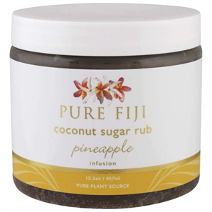 Pure Fiji Coconut Sugar Scrub Pineapple