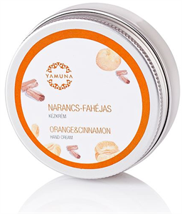 Yamuna Narancs-Fahéjas Kézkrém