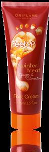 Oriflame Feet Up Lábkrém Gyömbérrel és Mandarinnal