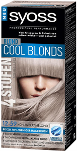 Syoss Cool Blonds Hajfesték