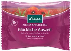 Kneipp Aroma Pezsgőfürdő - Glückliche Auszeit