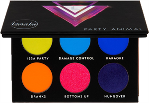 Laura Lee Los Angeles Party Animal Pressed Pigment Palette
