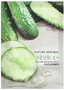 Nature Republic Real Nature Mask Sheet - Cucumber