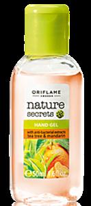 Oriflame Nature Secrets Antibakteriális Kéztisztító Teafával és Madarinnal