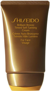 Shiseido Sun Care Brilliant Bronze Tinted Self-Tanning Cream