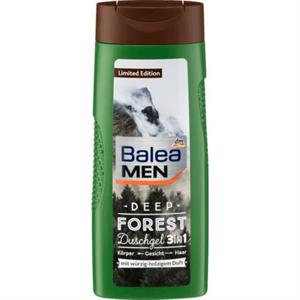 Balea Men Deep Forest 3in1 Tusfürdő