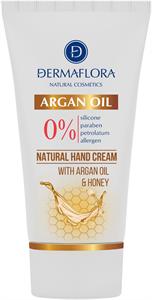 Dermaflora 0% Kézkrém Argan Oil & Honey