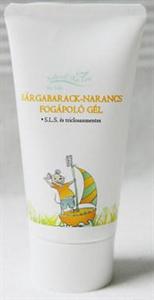 Natural Skin Care for Kids Sárgabarack-Narancs Fogápoló Gél