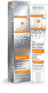Revuele Night Face Cream C+Energy Vitanorm