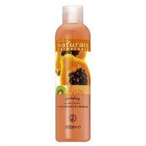 Avon Naturals Hidratáló Papaja és Kivi 2 az 1-Ben Sampon és Balzsam