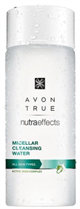 Avon True Nutra Effects Micellás Arctisztító Víz