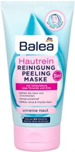 """Balea Arctisztító, Arcradír és Arcmaszk 3In1 """"Hautrein"""" Rózsaszín Agyaggal Problémás Bőrre"""