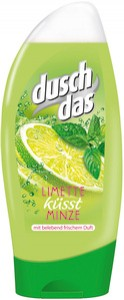 Duschdas Lime & Menta Tusfürdő