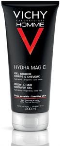 Vichy Homme Hydra Mag C Hidratáló Tusfürdő