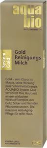 Aquabio System Gold Arctisztító Tej