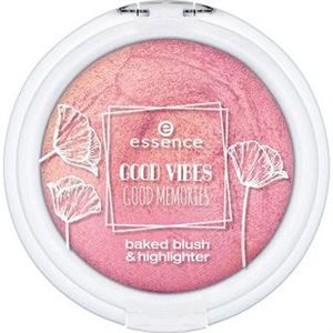 Essence Good Vibes Good Memories Pirosító és Highlighter