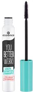 Essence You Better Work! Lenght Definition Vízálló Szempillaspirál