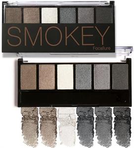 Focallure Smokey 6 Colors Eyeshadow Palette