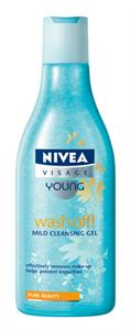 Nivea Visage Young Wash Off Arclemosó Zselé