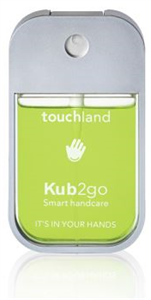 Touchland Kub2go Kézfertőtlenítő - Aloe Vera