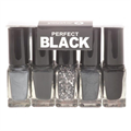 Youstar Perfect Black Körömlakk Szett