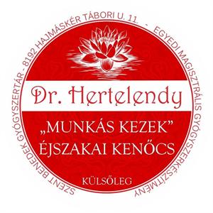 """Dr. Hertelendy """"Munkás Kezek"""" Éjszakai Kenőcs"""