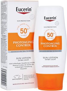 Eucerin Sun Photoaging Control Extra Könnyű Naptej Testre FF50+