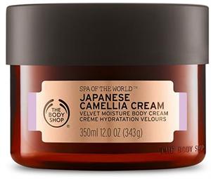 The Body Shop Japán Kaméliakrém