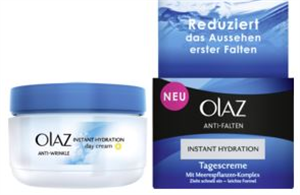 Olay Anti Falten Instant Hydration Tagescreme